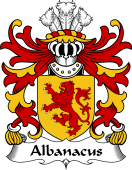 Welsh Coat of Arms for Albanacus (Son of Brutus)