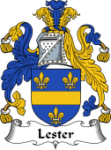 Irish Coat of Arms for Lester or MacLester