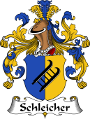 German Wappen Coat of Arms for Schleicher