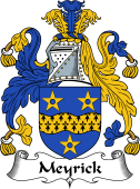 English Coat of Arms for Meyrick