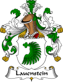 German Wappen Coat of Arms for Lauenstein