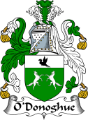 Irish Coat of Arms for O'Donoghue