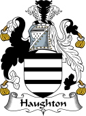 English Coat of Arms for Haughton or Houghton