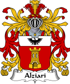 Italian Coat of Arms for Alziari
