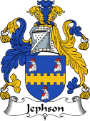 Irish Coat of Arms for Jephson