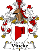 German Coat of Arms for Vincke