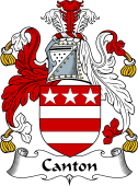 English Coat of Arms for Canton
