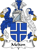 English Coat of Arms for Melton