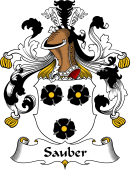 German Wappen Coat of Arms for Sauber