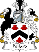 English Coat of Arms for Pollard