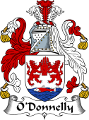 Irish Coat of Arms for O'Donnelly