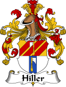 German Wappen Coat of Arms for Hiller