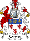 Irish Coat of Arms for Carney
