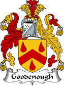 English Coat of Arms for Goodenough
