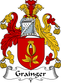 English Coat of Arms for Grainger