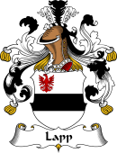 German Wappen Coat of Arms for Lapp