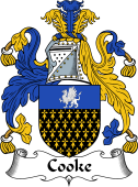Irish Coat of Arms for Cooke