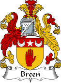 Irish Coat of Arms for Breen
