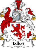 Irish Coat of Arms for Talbot