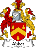 English Coat of Arms for Abbot