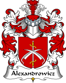 Polish Coat of Arms for Alexandrowicz