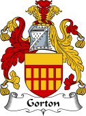 English Coat of Arms for Gorton