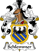 German Wappen Coat of Arms for Schlemmer