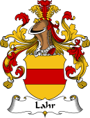 German Wappen Coat of Arms for Lahr