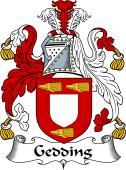 English Coat of Arms for Gedding
