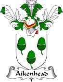 Coat of Arms from Scotland for Aikenhead