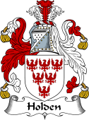English Coat of Arms for Holden II