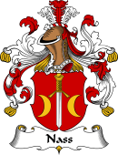 German Coat of Arms for Nass