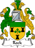 English Coat of Arms for Rock (e)