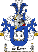 Dutch Coat of Arms for de Kater