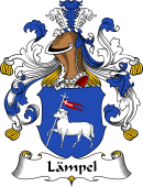 German Wappen Coat of Arms for Lämpel