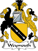 English Coat of Arms for Weymouth