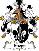 German Wappen Coat of Arms for Knopp