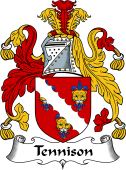 English Coat of Arms for Tennison