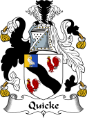 Irish Coat of Arms for Quicke