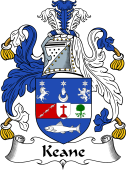 Irish Coat of Arms for O'Cahan (Kane or Keane)