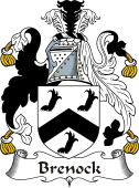 Irish Coat of Arms for Brenock