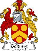 English Coat of Arms for Golding