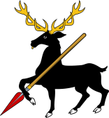 Stag Trip Holding Spear