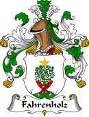 German Coat of Arms for Fahrenholz