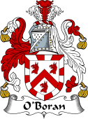Irish Coat of Arms for O'Boran or Borran