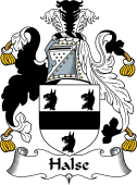 English Coat of Arms for Halse