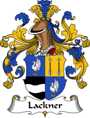 German Wappen Coat of Arms for Lackner