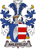 Danish Coat of Arms for Ahlefeldt