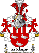 Dutch Coat of Arms for de Meyer