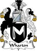 English Coat of Arms for Wharton